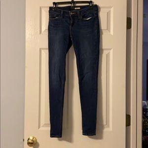 Levi 535 super skinny jeans